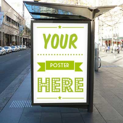 Light Box Poster Printing Swansea - Light Box Graphics