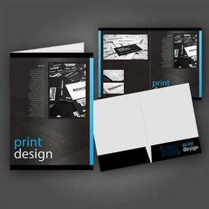 Presentation Folder Printing Swansea